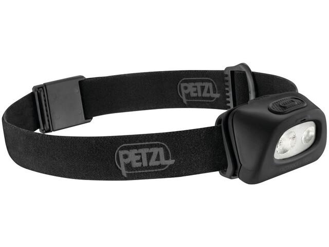 Petzl Tactikka + RGB Lampe frontale, black